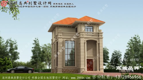 三层 别墅设计图纸 ,在农村建造