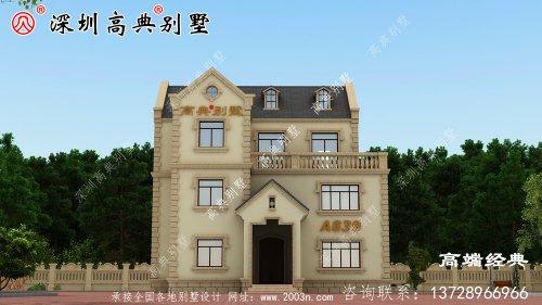 在村里建一栋这样的别墅真的让城里的人很羡慕