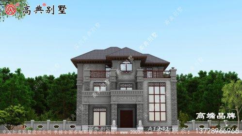 喜欢安静的生活,就回乡下建个中式别墅吧