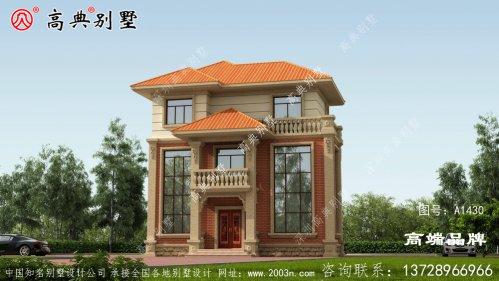 农村三层别墅设计图,建在农村非