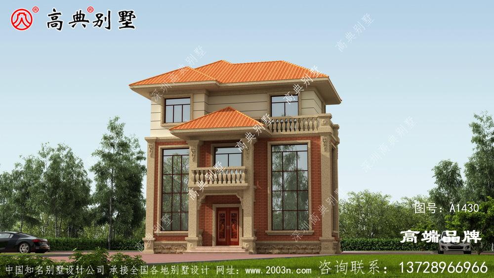 农村三层别墅设计图,建在农村非常合适