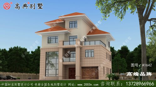 斜屋顶设计更加美观,实用性也更