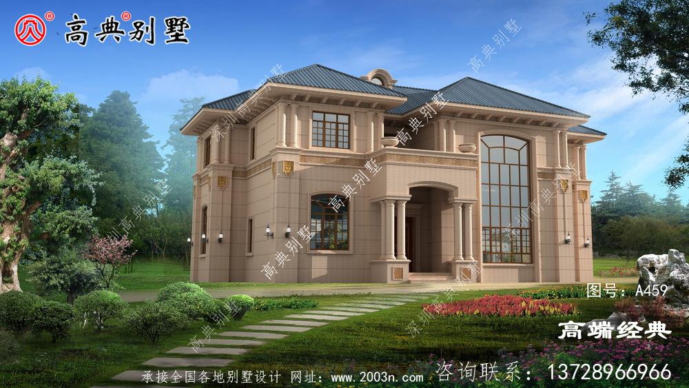 别墅装饰得透明大方功能齐全,视觉上才能给人一种高端大气的感觉
