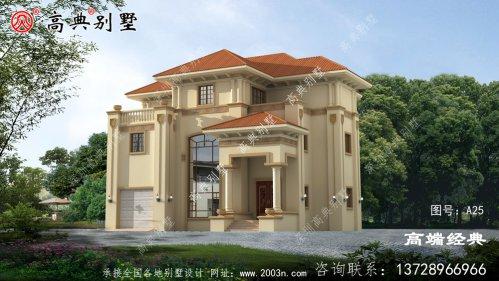 农村三层别墅最佳设计图,我也好