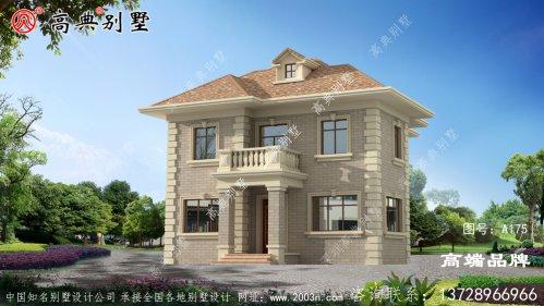 农村二层别墅设计图,农村建房子