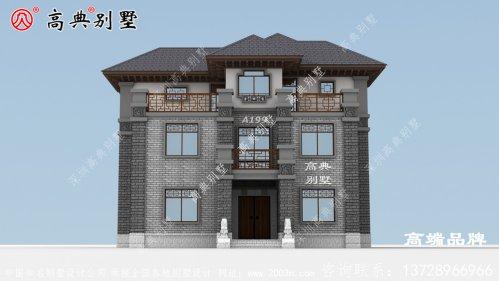 这款别墅结合优美的拱形线条和文