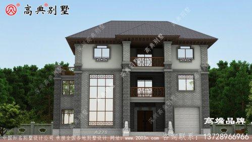 新中式风格别墅,整体素雅高贵